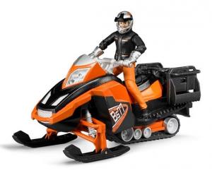 BRUDER Motoslitta Con Figura E Accessori Mezzo Neve Gioco Maschio Bimbo Bambino 172