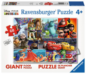 RAVENSBURGER Puzzle 60 Pezzi Giant Pavimento Disney Pixar Friends Puzzle 142
