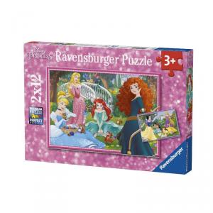 RAVENSBURGER Puzzle 2 X 12 Pezzi Disney Princess Puzzle Giocattolo 195