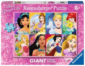 RAVENSBURGER Puzzle 125 Pezzi Giant Pavimento Principesse Disney Puzzle 749