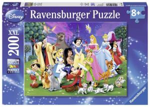 RAVENSBURGER Puzzle 200 Pezzi Xxl I Miei Preferiti Disney Puzzle Giocattolo 426