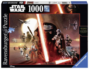 RAVENSBURGER Puzzle 1000 Pezzi Disney Star Wars Puzzle Giocattolo 104