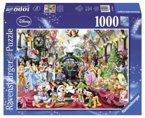RAVENSBURGER Puzzle 1000 Pezzi Disney Il Treno Di Natale Disney Puzzle 672