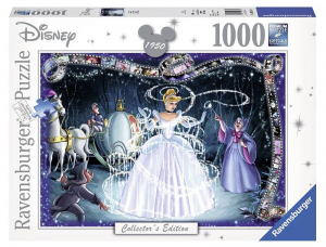RAVENSBURGER Puzzle 1000 Pezzi Disney Disney Classics Cenerentola Puzzle 747