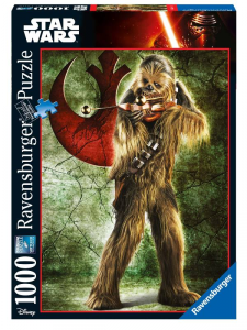 RAVENSBURGER Puzzle 1000 Pezzi Disney Star Wars Ultimate Collection Chewbacca 207