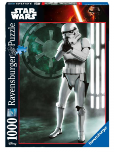RAVENSBURGER Puzzle 1000 Pezzi Disney Star Wars Ultimate Collection Imperial 237