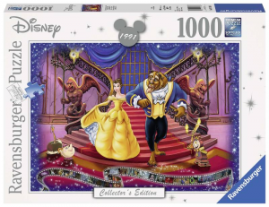 RAVENSBURGER Puzzle 1000 Pezzi Disney Disney Classic La Bella E La Bestia Puzzle 454