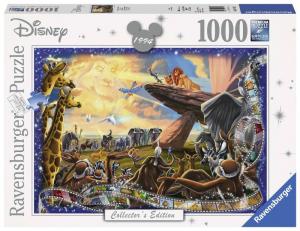 RAVENSBURGER Puzzle 1000 Pezzi Disney Disney Classic Il Re Leone Puzzle 882