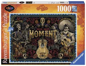 RAVENSBURGER Puzzle 1000 Pezzi Disney Coco Seize Your Moment Puzzle Giocattolo 416