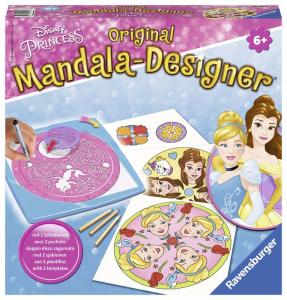 RAVENSBURGER Mandala Designer Disney Princess Disegno Forme Colori Gioco 410