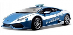 BBURAGO Lamborghini Huracan Polizia 1/32 Auto Gioco Maschio Bimbo Bambino 112