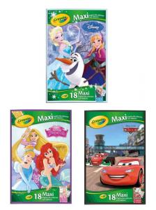 CRAYOLA Maxi Pagine Da Colorare Con Adesivi Assortitote Disney Iva Assolta Pvp 6 470