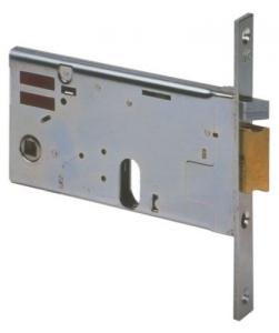 CISA ELETTROSERRATURA DA INFILARE PER FASCE 14450 70 frontale 16mm entrata 70mm