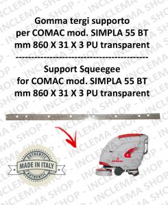 Gomma tergipavimento supporto per lavapavimenti COMAC SIMPLA 55 BT