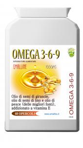Omega369 - Integratore 60 Opercoli da 1000mg