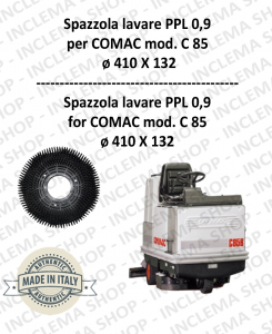 C 85 spazzola lavare PPL 0;9 per lavapavimenti COMAC