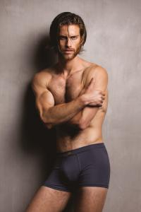 Boxer uomo in modal ottenuto dalle fibre del faggio, colore Blue navy. Zenzero'