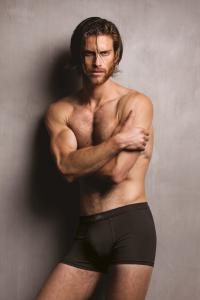 Boxer uomo in modal ottenuto dalle fibre del faggio, colore nero. Zenzero'