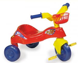 BIEMME Triciclo Flash Rosso 1377 R Triciclo Gioco Bambino Bambina Giocattolo 791