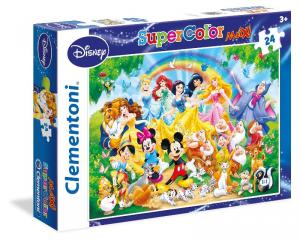 CLEMENTONI Puzzle Maxi 24 Disney Family Puzzeleball 3D Puzzle Giocattolo 215