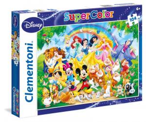 CLEMENTONI Puzzle 104 Disney Classic Puzzle Giocattolo 823