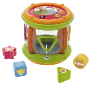 CHICCO Tamburo Musicale Del Re Leone Disney Baby Gioco Playset 559