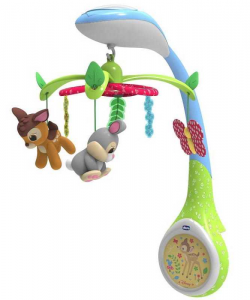 CHICCO Giostrina Di Bamby Disney Baby Giostrina Giostra Prima Infanzia 114