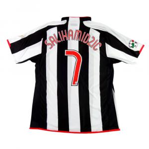 2007-08 Juventus Maglia Home Match Worn #7 Salihamidzic XL