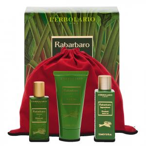 L'ERBOLARIO RABARBARO beauty-set da viaggio