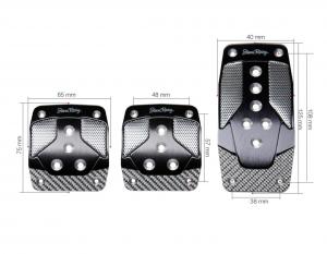 Set pedali sportivi Simoni Racing Carbon Shade