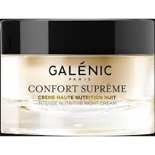 Galènic Confort Supreme crema nutriente intensiva notte idratante rivitalizzante
