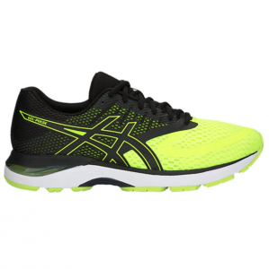 SCARPE ASICS GEL-PULSE 6 10 FLASH YELLOW/BLACK 1011A007-750 RUNNING