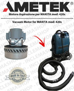 440s Vacuum Motor Amatek  for vacuum cleaner MAKITA