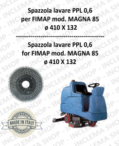 MAGNA 85 Strandard Wash Brush PPL 0,6 for Scrubber Dryer FIMAP