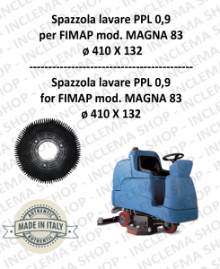 MAGNA 83 Strandard Wash Brush PPL 0,9 for Scrubber Dryer FIMAP