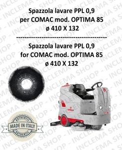 OPTIMA 85 Strandard Wash Brush PPL 0,9 for Scrubber Dryer COMAC