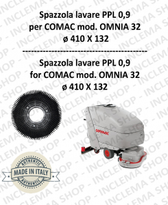 OMNIA 32 Strandard Wash Brush PPL 0,9 for Scrubber Dryer COMAC
