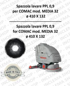 MEDIA 32 Cepillo Standard PPL 0,9 para fregadora COMAC