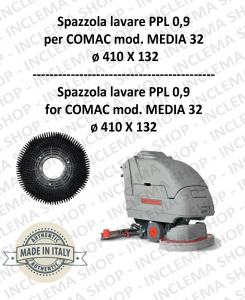 MEDIA 32 Strandard Wash Brush PPL 0,9 for Scrubber Dryer COMAC