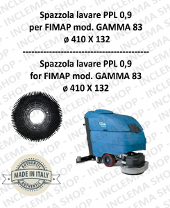 GAMMA 83 Strandard Wash Brush PPL 0,9 for Scrubber Dryer FIMAP