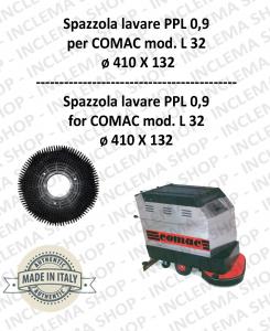 L 32 Cepillo Standard PPL 0,9 para fregadora COMAC