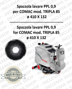 TRIPLA 85 Standard Bürsten PPL 0,9 für Scheuersaugmaschinen COMAC