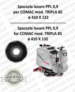 TRIPLA 85 Cepillo Standard PPL 0,9 para fregadora COMAC
