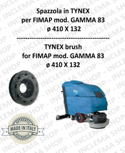 GAMMA 83 BROSSE in TYNEX pour autolaveuses FIMAP