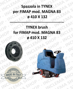 MAGNA 83 spazzola in TYNEX for Scrubber Dryer FIMAP
