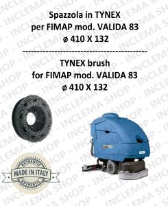 VALIDA 83 BROSSE in TYNEX pour autolaveuses FIMAP