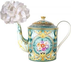 Diffusore per ambiente, teiera con fiore in carta di Baci Milano Liena Maroc & Roll Tea Time