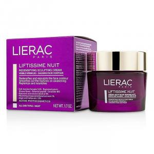 Lierac Liftissime Nuit crème de modelage redensifiante crema nutriente ridensificante rughe profonde ovale rilassato