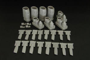 C-130 E/H engine set (Italeri kit)