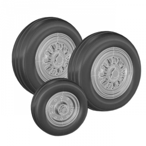 F-16 FIGHTING FALCON WHEEL SET